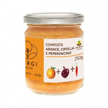 Composta Arance Cipolla e Peperoncino