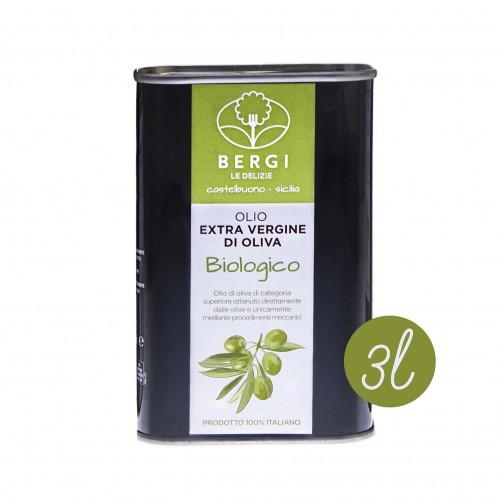 Olio Bio extravergine d'oliva 3 L